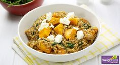 Pumpkin and Fetta Risotto Recipe