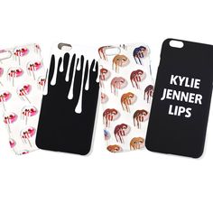 Kylie jenner phone cases if you want these now cheaper they sell them at ali express!! check it out kylie jenner store @simra