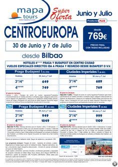 Centroeuropa salidas Bilbao 30 Junio y 7 Julio **Precio desde 769** - http://zocotours.com/centroeuropa-salidas-bilbao-30-junio-y-7-julio-precio-desde-769/