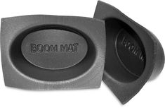 Boom Mat baffles protect your car's new speakers from moisture and dirt. Mounted behind the speaker, the baffle forms a mounting seal that also improves sound Mustang Parts, Speakers, Clarity, Seal, Moisturizer, Moisturiser, Harbor Seal, Loudspeaker