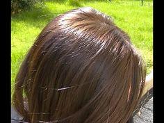 Soin Maison :: cheveux secs, cassants & ternes - YouTube