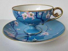 Tea Cup Set, My Cup Of Tea, Tea Cup Saucer, Tea Sets, Antique Tea Cups, Vintage Cups, Vintage China, Cuppa Tea, Teapots And Cups