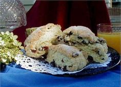 Recipe For Westbrook Inn Cranberry Orange Scones | Bed and Breakfast Inns | BBOnline.com