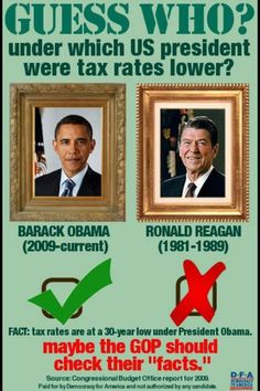 Who's taxes are lower?