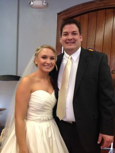 Congrats to Ryan and Danielle who were married at #piperpalmhouse on 3-20-15