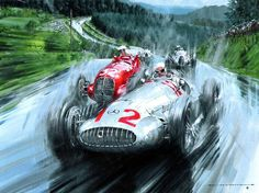 d GP-Nürburgring 1939-Beautiful artwork from Nicholas Watts