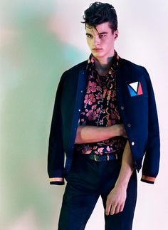 """""""Generation to Generation"""" by Josh Olins for the Spring/Summer 2012 issue of Vogue Hommes Japan."""