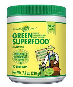 Take a look at the Pineapple Lemongrass Green SuperFood - 30 Servings on #zulily today!