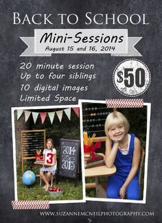 Knoxville Back to School MIni Sessions