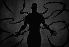 "Despair ""the Devil's Shadow"" Dark Fantasy Art, Dark Art, Arte Tim Burton, Shadow Powers, Character Inspiration, Character Art, Character Concept, Shadow Creatures, Shadow Monster"