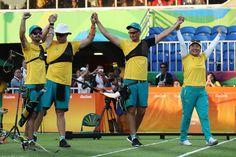 Day 1: Archery Men's Team - Team Australia