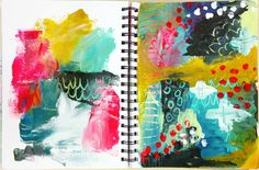 Art Journal Summer Camp 2014 is almost here! — Journal Girl