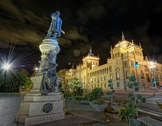 Plaza Zorrilla, Valladolid, HDR 2 by marcp_dmoz, via Flickr