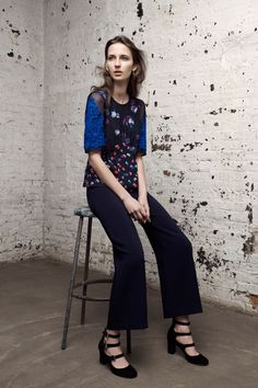 Rebecca Taylor's new Pre-Fall 2016 collection was MADE for chic work wardrobes