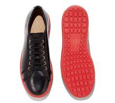 Zapato deportivo con suela de color - Zapatos - Rebajas Caballero - Rebajas - Salvatore Ferragamo