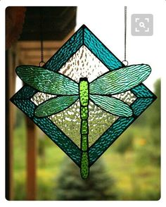 Dragonfly Stained Glass #StainedGlassNativity