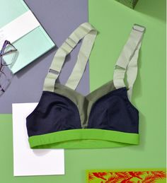 One of our best selling bras, the bra can be paired with short, capri or legging. It is your every day bra. Machine wash cold like color. Do not bleach or iron. Air dry. Made in USA with Love. Model s