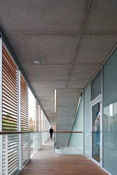 Image 20 of 30 from gallery of The Helios Swimming Centre's General Services Building / ACXT. Courtesy of ACXT Arquitectos Little Architects, Training Center, Garage Doors, Swimming, House Design, Windows, Gallery, Building, Outdoor Decor