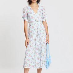For the Emilia Wickstead 'Aurora' Floral-Print Dress