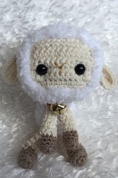 A personal favorite from my Etsy shop https://www.etsy.com/listing/454710012/crochet-lamb