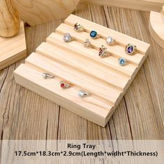 Wood Jewelry Display Stand Earrings, Ring, Necklace, Bracelets Display Stand Wood Jewellery Display Stand купить на AliExpress