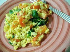 Healthy Vegan Breakfast - Vegan Scrambled Eggs