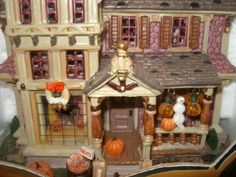 Lemax Spooky Town Lighted Halloween House With 6 Ft. Cord