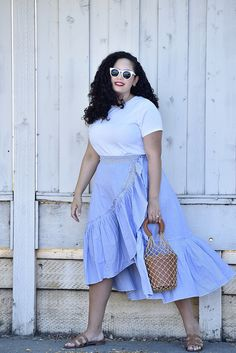 Outfits plus size fashion for women summer, curvy fashion summer, plu Curvy Outfits, Mode Outfits, Trendy Outfits, Trendy Fashion, Style Fashion, Fashion Outfits, Trendy Style, Fat Fashion, Fashion Brands