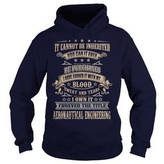AERONAUTICAL ENGINEERING T-Shirts, Hoodies. BUY IT NOW ==►…