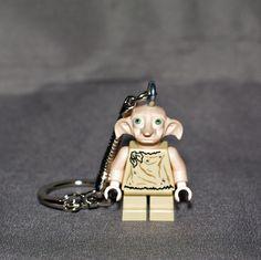 Dobby LEGO key chain