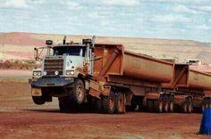 That. Is.  MACK  Truck. Power. Pulling. Heavy haul