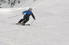 Ski Technique Tips, fine-tune your ski style with these tips for long and short turns on carving skis #skiing