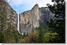 Yosemite Hikes: Bridalveil Fall... It's not easy climbing to the top!