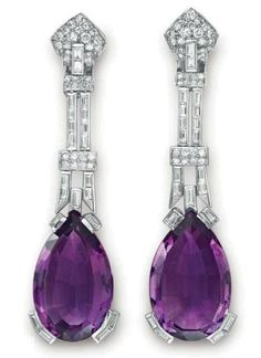 Earrings 1930 Christie's