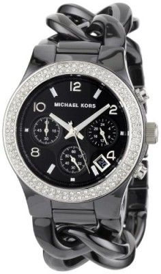 Relógio Michael Kors Women s MK5388 Ceramic Classic Chronograph Black Watch   Relogios  MichaelKors Relógios Fashion 0f4accd969