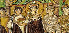 Teodora. De prostituta a Imperatriz do Império Bizantino e Santa da Igreja Ortodoxa.