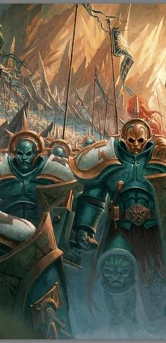 "The ""Not-Space-Marines"" from Games Workshop's ""Age of Sigmar"""