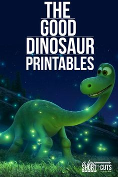 FREE Disney Pixars The Good Dinosaur Printable Coloring Pages And Games Great For A Party