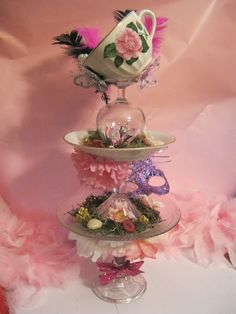 tea party centerpieces