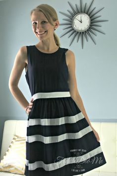C. Luce Izzy Striped Dress.  Love this dress.  The back is the best part.
