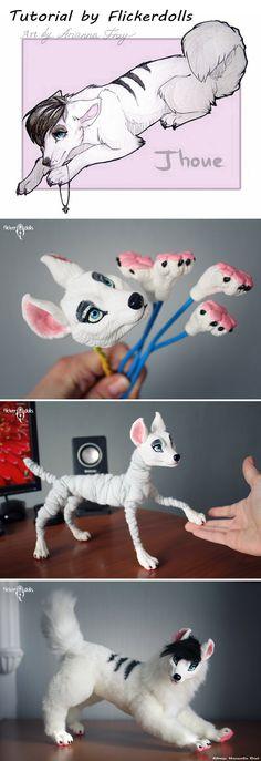 Tutorial - creating a doll. Jhoue by Flicker-Dolls.deviantart.com on @DeviantArt