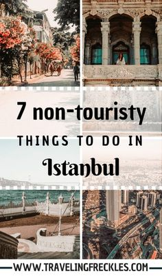 Non-Touristy Things to Do in Istanbul. The best alternative places for your trip to Istanbul. What to do in Istanbul to beat the crowds. Travel 7 Non-Touristy Things to Do in Istanbul Turkey Vacation, Turkey Travel, Cool Places To Visit, Places To Travel, Travel Destinations, Istanbul Places To Visit, Stuff To Do, Things To Do, Capadocia