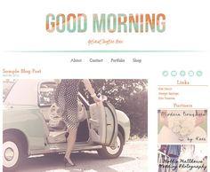 Premium Wordpress Template - Good Morning Theme