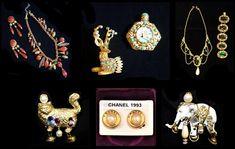 VINTAGEMODESCHMUCK Gold, Chanel, Bracelets, Jewelry, Fashion, Necklaces, Bangle Bracelet, Gemstones, Fashion Jewelry