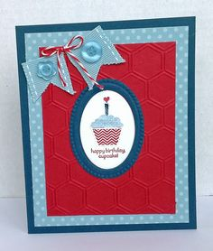 Happy Birthday, Cupcake -  Stampin' Up! Patterned Occasions