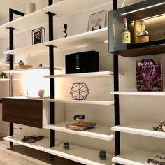 Shelving, Bookcase, Indoor, Design, Home Decor, Modern Library, Interior Design, Trendy Tree, Libraries