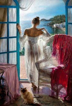 View 148 Exquisite Paintings by Spanish Artist Vicente Romero Redondo Pinturas Em Tom Pastel, Spanish Artists, Fine Art, Beautiful Paintings, Pastel Paintings, Romantic Paintings, Oeuvre D'art, Art Reproductions, Female Art