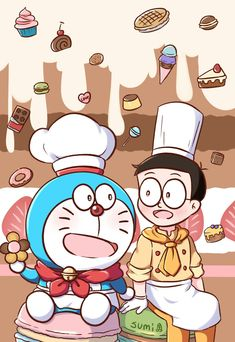Disney Drawings Sketches, Cartoon Drawings, Easy Drawings, Doraemon Wallpapers, Cute Cartoon Wallpapers, Doremon Cartoon, Cartoon Characters, Doraemon Stand By Me, Onii San