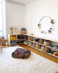 vant que tout soit retourné par 5 petites 🌪 . You can get a big family area utilizing compact area ornamentation ideas. Bedroom Storage Ideas For Clothes, Bedroom Storage For Small Rooms, Kids Bedroom, Bedroom Ideas, Toy Room Organization, Toy Rooms, Decor Room, Bedroom Decor, Wall Decor