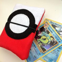 MY MONDAY MAKES - Pokemon Deck Holder - 15 minute sewing project - MY MONDAY MAKES